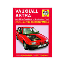Vauxhall Astra Haynes Manual 1991-98 1.4 1.6 1.8 2.0 Petrol Workshop