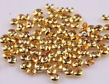 Nice 200Pcs Crimp Beads Covers Silver/Golden/Copper/Black 5mm