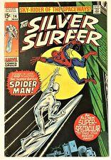 Silver Surfer #14 1968 Series NM-, Guide Book Value $272.00 (copy 2)
