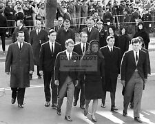 JACQUELINE KENNEDY LEADS WALKING PARADE FOR JFK FUNERAL - 8X10 PHOTO (OP-564)