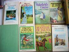 Mazo de la Roche--JALNA/WHITEOAKS Series Complete Set of 16 Books
