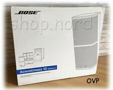 Bose Acoustimass 10, weis,  Series V 5.1 Direct/Reflecting Serie II Cinema