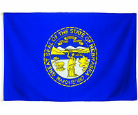 Fahne Nebraska Querformat 90 x 150 cm U.S.A. Hiss Flagge Bundesstaat USA