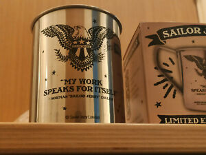 Sailor Jerry Spiced Rum Tin Metal Mug Cup