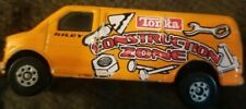 Tonka Orange Construction zone Chevrolet express Van 2003 Hasbro Maislo diecast
