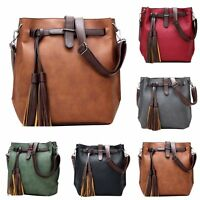 Women Leather Handbag Shoulder Bag Tote Purse Messenger Satchel Cross Body