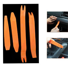 4pc Audio Installer Car Removal Open Tools Door Clip Kit Panel Radio Trim Dash