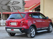 Chrome Tail Rear Light Lamp Cover Trim for 2007-2012 Nissan Qashqai Dualis