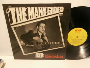 "eddie cochran""the many sides of""lp12""uk.1974.mono.rockstar:jrj.1001.label jaune"