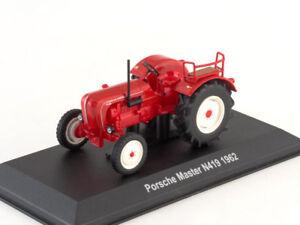 Porsche-Diesel Master N419 Red German Farm Tractor 1962 Year 1:43 Scale HACHETTE