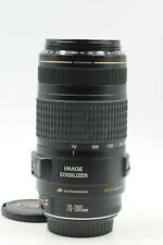 Canon EF 70-300mm f4-5.6 IS USM Lens 70-300/4-5.6                           #203