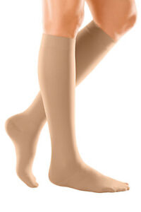 duomed soft below knee SAND support stockings varicose vein compression socks