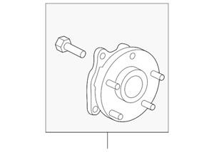 Genuine Toyota Hub Assembly 43550-F4010