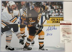ADAM OATES AUTOGRAPHED SIGNED INSCRIBED BOSTON BRUINS 11x14 PHOTO JSA  COA
