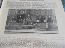 1901 Baugewerkszeitung 42  / Köln Heinzelmännchen Brunnen / Neustadt Meckl.
