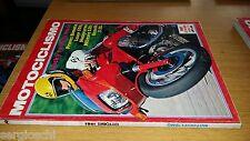 MOTOCICLISMO anno 1981 # 10-BIMOTA LASER 550-HUSQVARNA MILITARE 250-BENELLI S50