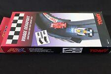 ZB269 TOMY AFX circuit voiture 8680 Rail virage derapant 2 coube 30 cm 1 droit