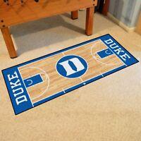"""Duke Blue Devils 30"""" X 72"""" Basketball Court Runner Area Rug Floor"""