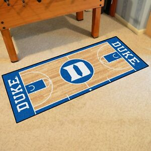 American Floor Mats Duke Blue Devils NCAA College Home Court Team Area Rug 310x54