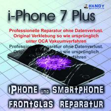 iPhone 7 Plus Display Glas Frontglas Reparatur 1 Jahr Garantie ✔️ OCA