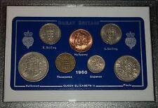1960 Vintage Coin Set 58th Anniversaire Naissance Année Cadeau Anniversaire De Mariage Cadeau