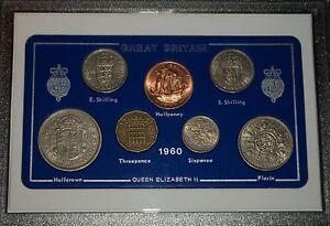 1960 Vintage Coin Set 61st Birthday Birth Year Present Wedding Anniversary Gift
