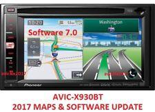 **2017** PIONEER AVIC-X930BT 2017 MAPS UPDATE + SOFTWARE 7.0 // BLUETOOTH 3.32