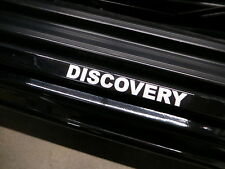 (2pcs) DISCOVERY doorstep badge decal LAND ROVER LR2 LR3