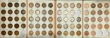 1911-1964 AUSTRALIAN PENNY SET..NO 1930,25 or 46 in ORIGINAL DANSCO ALBUM.