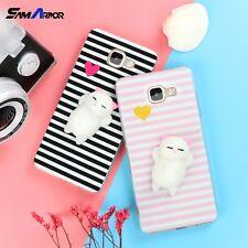 Funny Cute Cat Squishy Plus Soft TPU Case For iPhone X 8 4 4S 5 5S SE 5C 6 6S 7