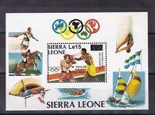 sierra leon 1985 Sc 702,s/s MNH boxing      e1916