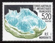 FRENCH ANTARCTIC MNH 1991 Minerals