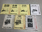 GEHL Forage Harvestor And Blowers OPERATORS And Parts Manuals Lot