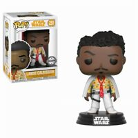 Lando Calrissian White Exclusive Star Wars Han Solo POP! #251 Vinyl Figur Funko