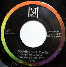 SWAN SILVERTONES 45 I Found The Answer / Going On With Jesus GOSPEL VeeJay w2561