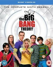 The Big Bang Theory - Season 9 [Includes Digital Download] [2016] (Blu-ray)