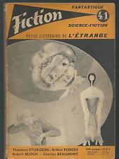 Fiction 41.Theodore Sturgeon, Marion Zimmer Bradley, Robert Bloch... SF53