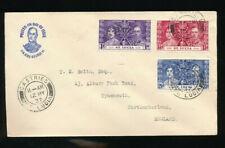 Karibik, Brief 1937 aus St.Lucia nach England   (T3)