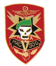 Military Assistance Command Vietnam (MACV-SOG) Pin 14681 (1 inch)
