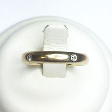 Band Excellent Cut Yellow Gold 18 Carat Fine Diamond Rings