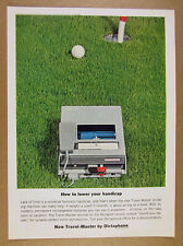 1963 Dictaphone Travel-Master dictating machine photo vintage print Ad