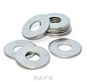 FORM C WASHERS A2 STAINLESS STEEL M4,M5,M6,M8,M10,M12,M16 WIDE LARGE FLAT WIDER