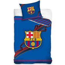 FC Barcellona Set Copripiumino 100% Cotone Nuovo Reversibile
