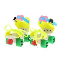 Kids' Quad Roller Skates 4 Wheels Adjustable Size