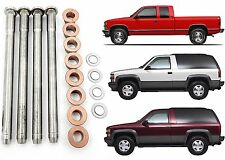 16pc Door Hinge Pin and Bushing Kit For 1988-2000 Chevy GMC Trucks New Free Ship