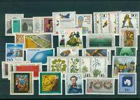 Bund Jahrgang 1981 - Auswahl aus Michel Nr. 1082 - 1117  , ** , postfrisch