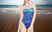 Gottex Wave Printed Draped Bandeau One Piece Swimsuit  #14WP-079-08 Size - 10