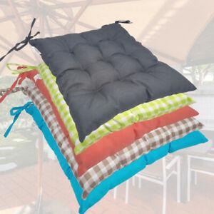 diMio 6er Set KSK6 Stuhlkissen TREND 7 Farben Haus Garten Sitzkissen 40x40x4cm