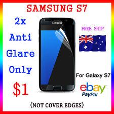 "2x Premium Anti Glare Screen Film Display Protector Samsung Galaxy S7 5.1"" Au"