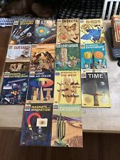 Vintage Lot of 14 How and Why Wonder Books - Vintage 1960's Era